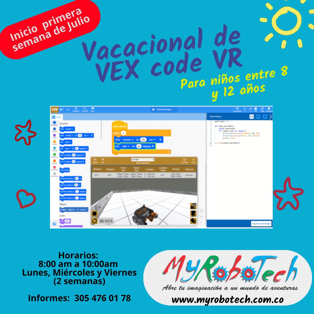 Vacacional Vx VR Code
